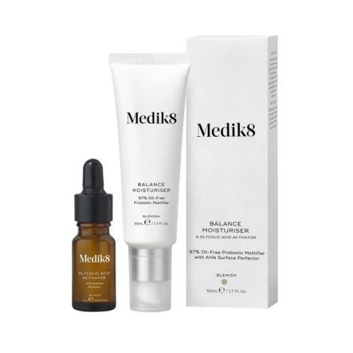 Medik8 Balance Moisturiser & Glycolic Acid Activator 50ml