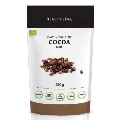 Kakaové boby drcené RAW BIO 250g