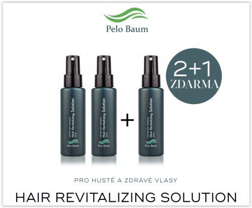 Pelo Baum Hair Revitalizing Solution 60ml, akce 2+1