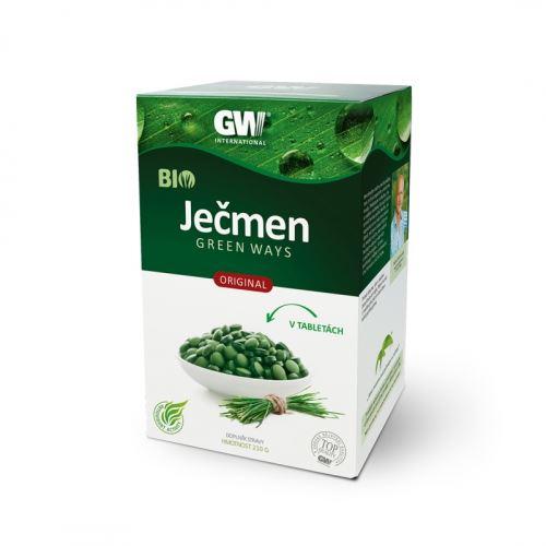 Ječmen Green Ways BIO tablety 210g