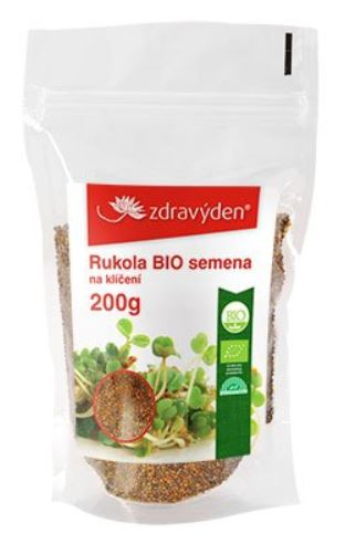 Rukola BIO - semena na naklíčení 200g