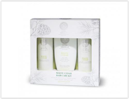 Siberie Blanche - balíček pro péči o vlasy Bílý cedr