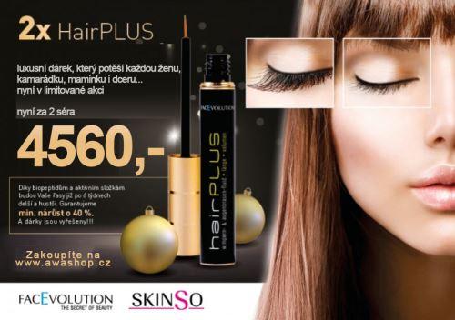 Hairplus sérum na řasy 4,5ml - balíček 2ks