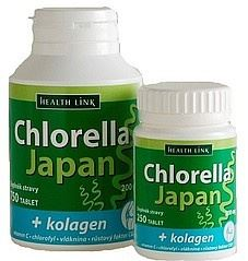 Health Link Chlorella Japan + kolagen 250 tbl.