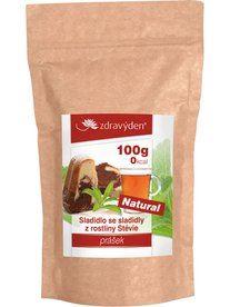 Stevia plus prášek 100g