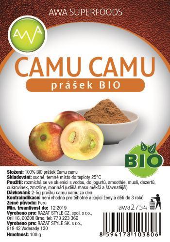 AWA superfoods Camu Camu prášek BIO 100 g