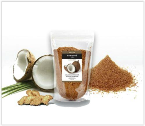 Health link Kokosový cukr se zázvorem 100g