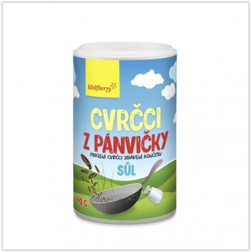 Cvrčci z pánvičky - sůl 40g