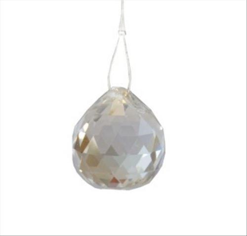 Kříšťálová skleněná koule Feng shui 20mm