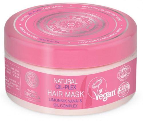 Natura Siberica přírodní maska na vlasy na bázi oleje na barvené vlasy Oil-plex 300 ml