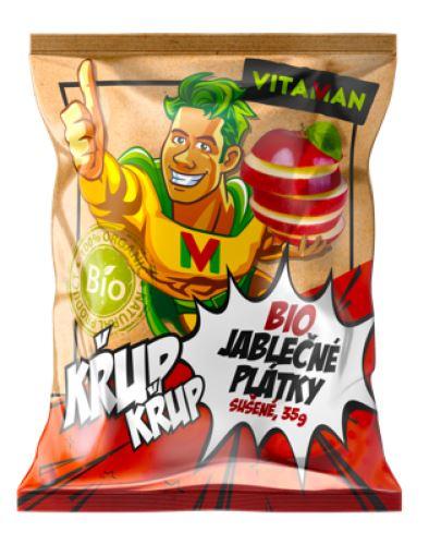 Vitaman Jablko BIO plátky 35g sušené