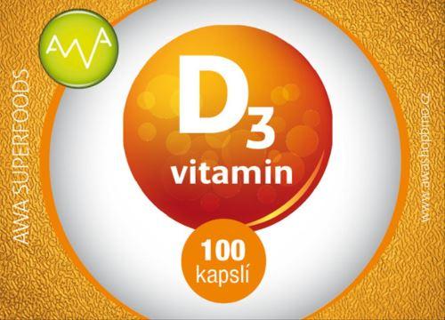 AWA superfoods vitamin D3 100 tablet