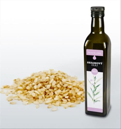 Health link BIO Sezamový olej 500ml