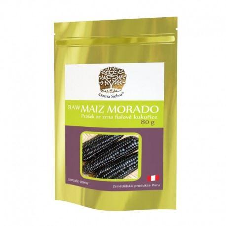 MAIZ MORADO prášek ze sušeného zrna fialové kukuřice RAW 240g