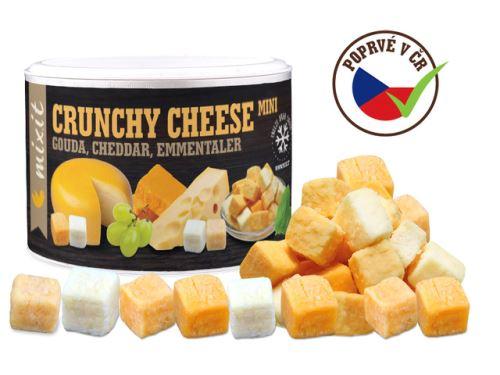 Mixit, mix křupavých sýrů Gouda, čedar, Ementál 135g
