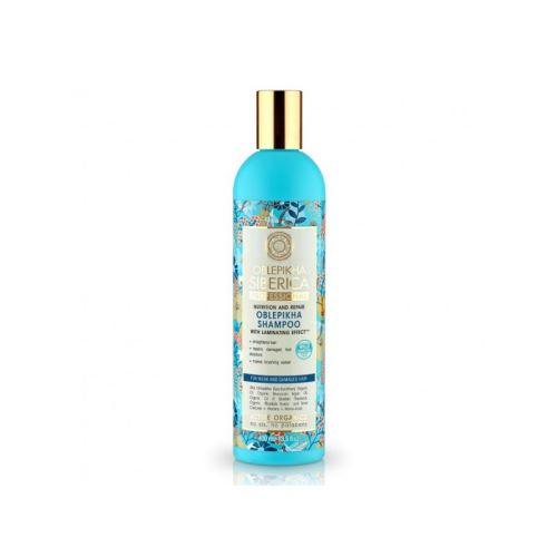 Natura Siberica Rakytníkový šampon pro slabé a poškozené vlasy - Oblepikha Siberica 400ml