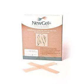 Béžová náplast ve tvaru proužku 2,5 x 15,2cm (4ks v balení),NG- 101S NewGel+
