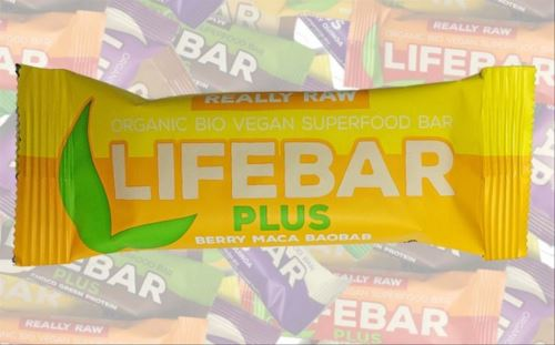 Berry Maca Baobab BIO, Lifebar Plus 47g