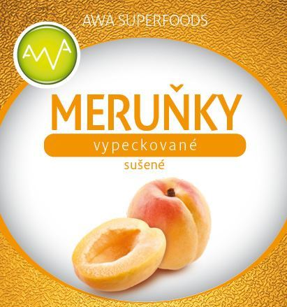 AWA superfoods Meruňky sušené 100g